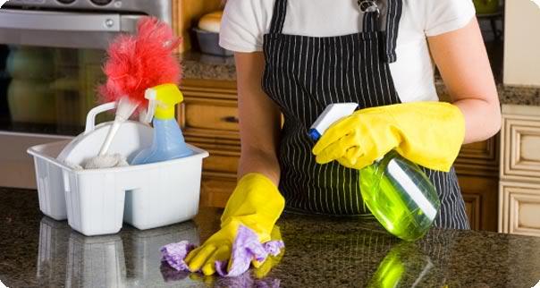 لغات انگلیسی در تمیز کردن خانه