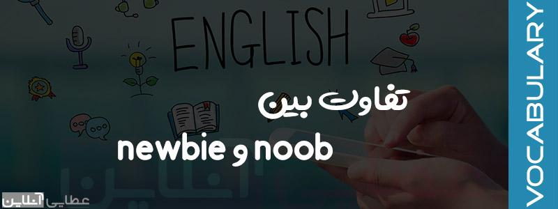 تفاوت بین newbie و noob